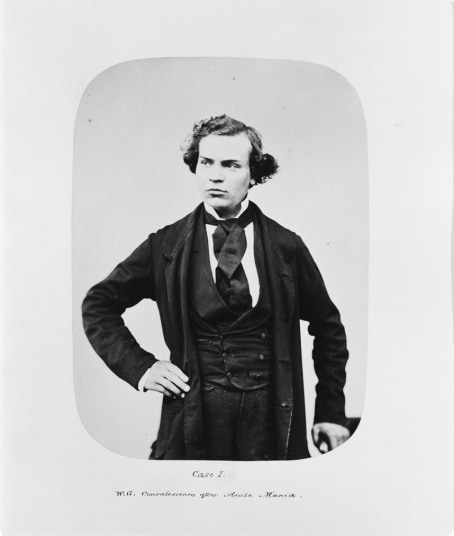 Portrait of William Grace at the time of his discharge in March 1858