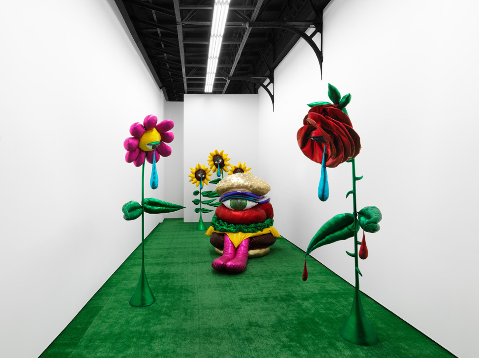 "Installation View: Hein Koh ""Splendor In The Grass"" at Marvin Gardens, Photo by Dan Bradica 2018"