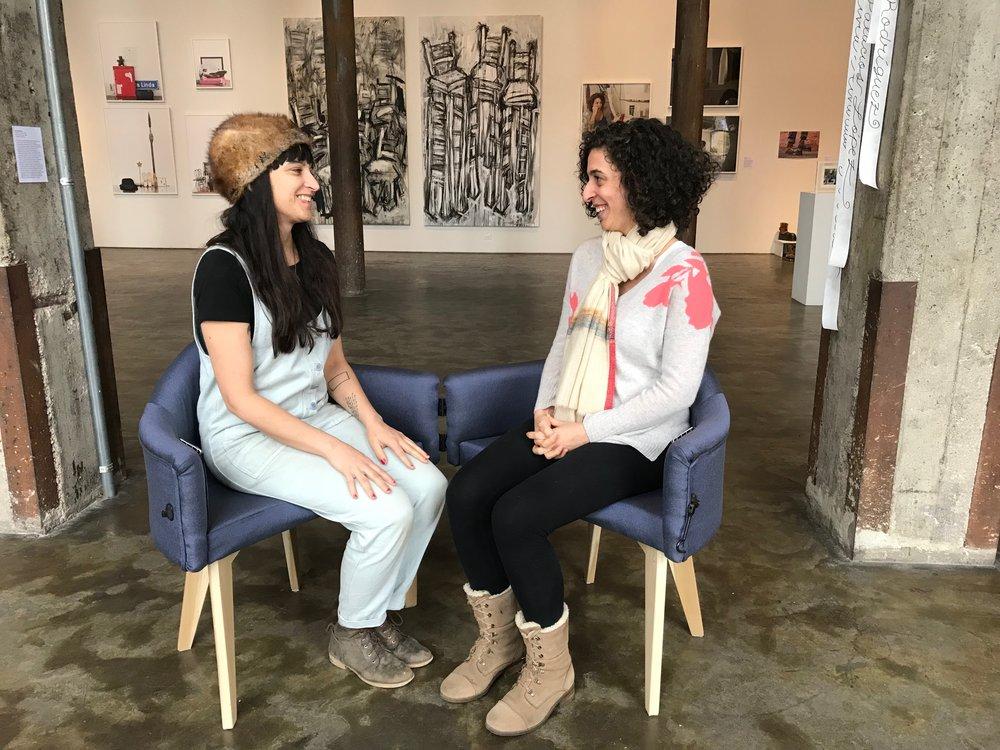 Jenn Dierdorf and Susan Stainman, Smack Mellon Gallery, Brooklyn NY 2018