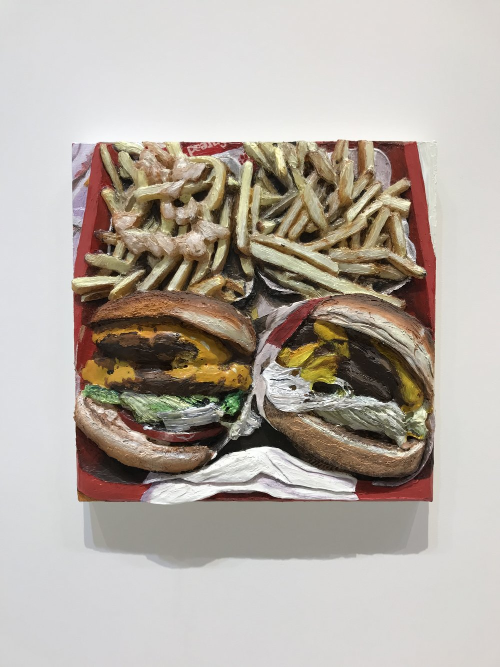 In-N-Out Burger , 2014  Acrylic on Canvas  Photo by Nick Naber