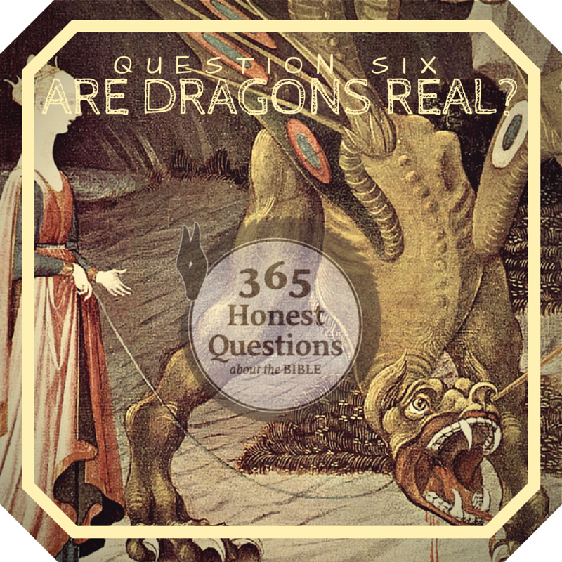 365 Honest Questions, Question 6: Are Dragons Real?