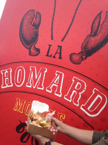 Because we're home to the Homard Mobile - a delicious lobster food truck.