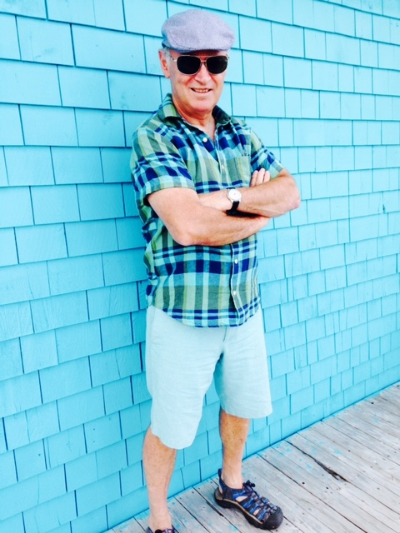 Dad, after a feast of fried clams to celebrate the success of a recent LinkedIn post.