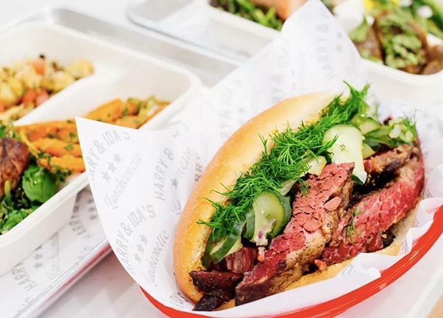 So happy for our friends @harryandidas on the opening of their new outpost in the FiDi. If you haven't tried their pastrami then you'd better get down there asap. 📸from @eater_ny - - - #oldnewyork #popspastrami #harryandidas