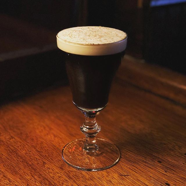 Love this shot.  #regram @talkcitytome #stpatricksday #ues #cocktails #irish