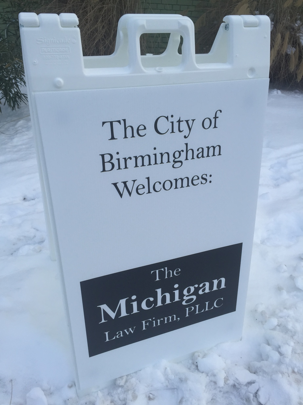 The City of Birmingham Welcomes The Michigan Law Firm, PLLC