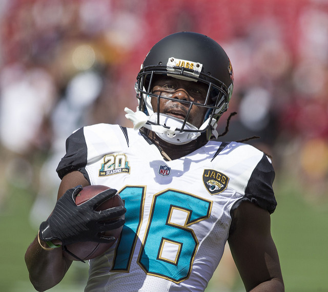 Denard Robinson Car Crash