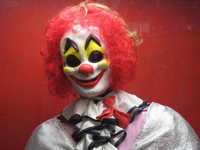 Halloween Clown Car Crash Attorney