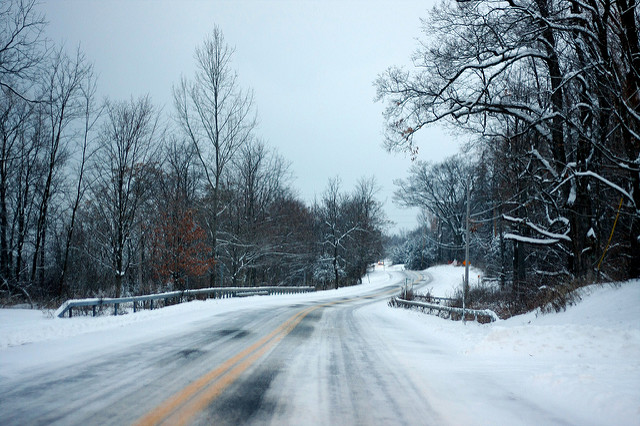 Michigan Icy Road Car Crash Lawyer