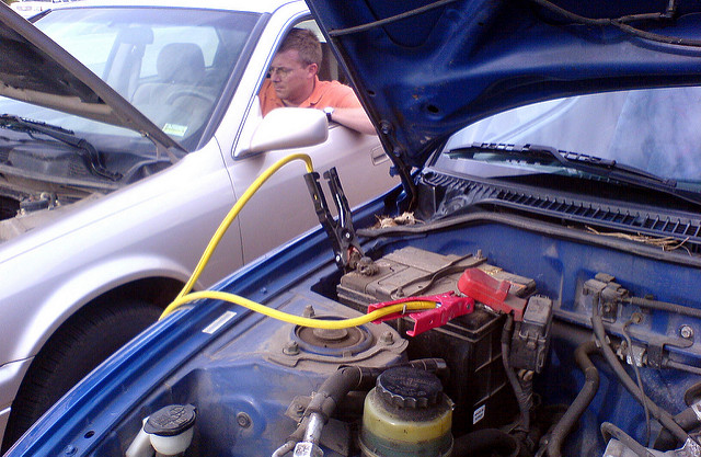 Michigan Car Jump-start Accident