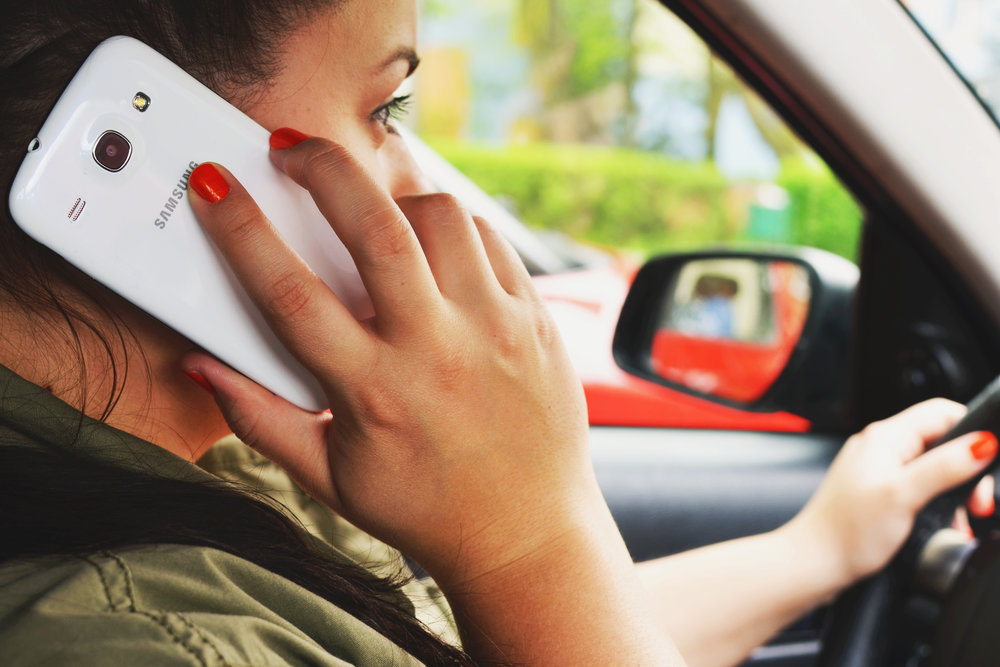 Michigan Distracted Driving Car Crash Lawyer