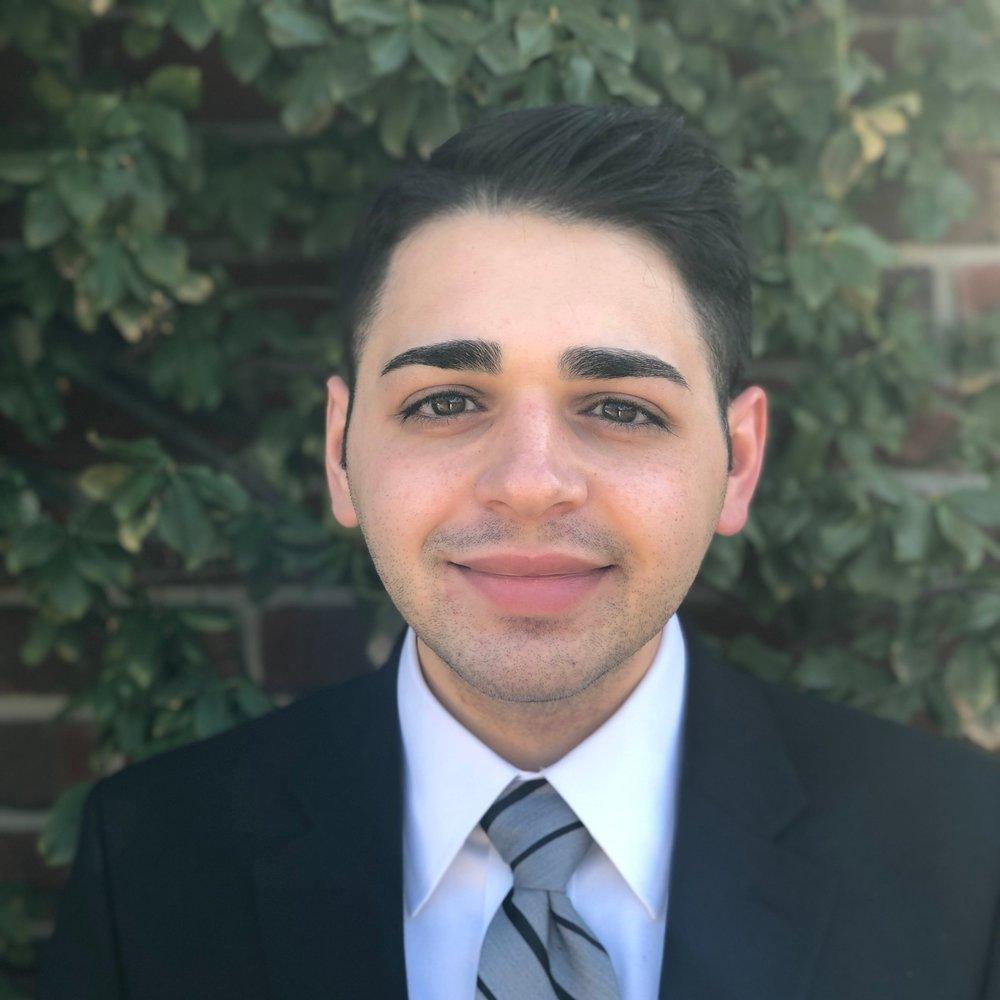 Joseph Mansour -  Legal Receptionist