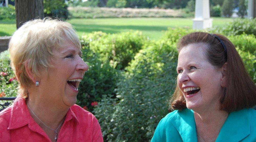 Mary Beth and Mimi 2008