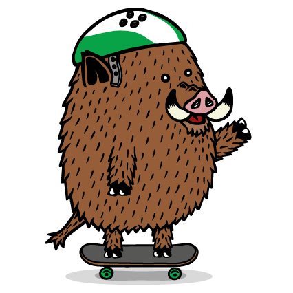 Skateboardschool Rotterdam logo