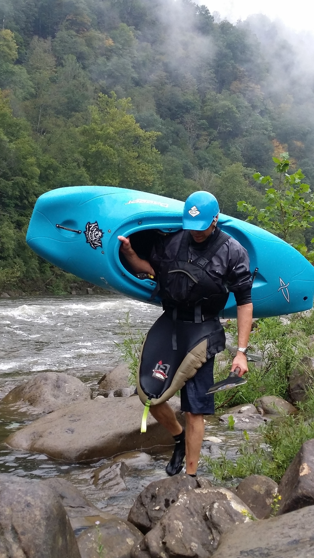 Accessing the Gauley River, courtesy of the LWCF. Photo credit: Eric Brooks.