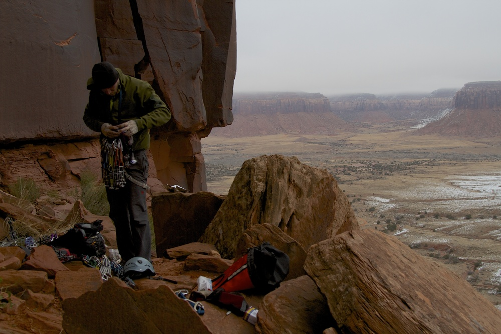 Indian Creek, a world class sandstone crack climbing area. Photo credit: flickr, Jonathan Fox