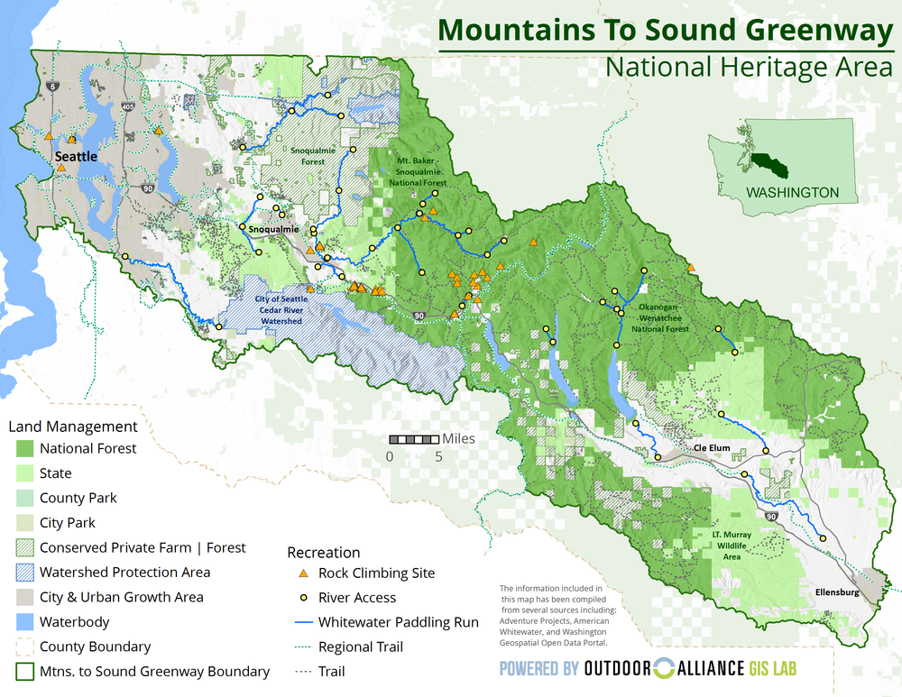 Mountains to Sound National Heritage Area