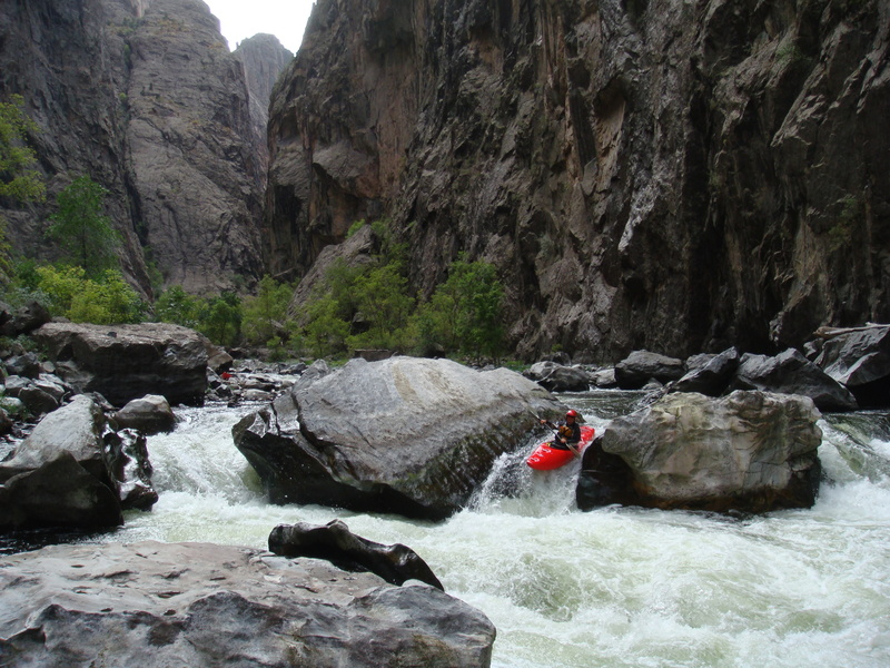 Colorado's Black Canyon of the Gunnison. Photo credit: American Whitewater