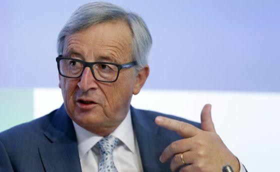 Juncker, presidente de la Comisión Europea, este martes en Bruselas. /FRANCOIS LENOIR (REUTERS)