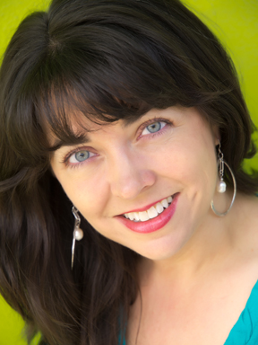Author Nikki Loftin - isn't she lovely?            Inside and out, I tell you.