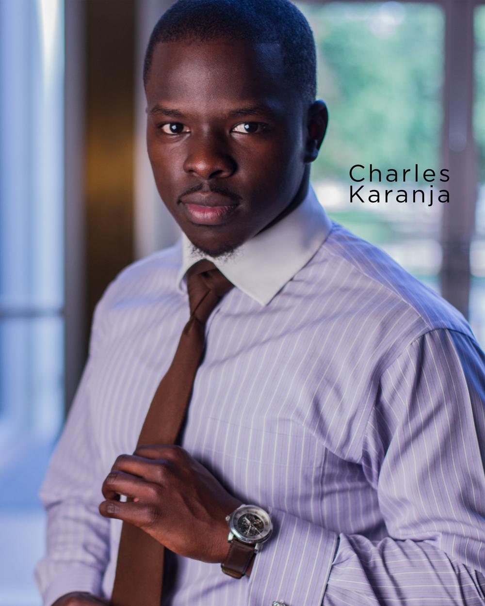 Charles Karanja - Headshot