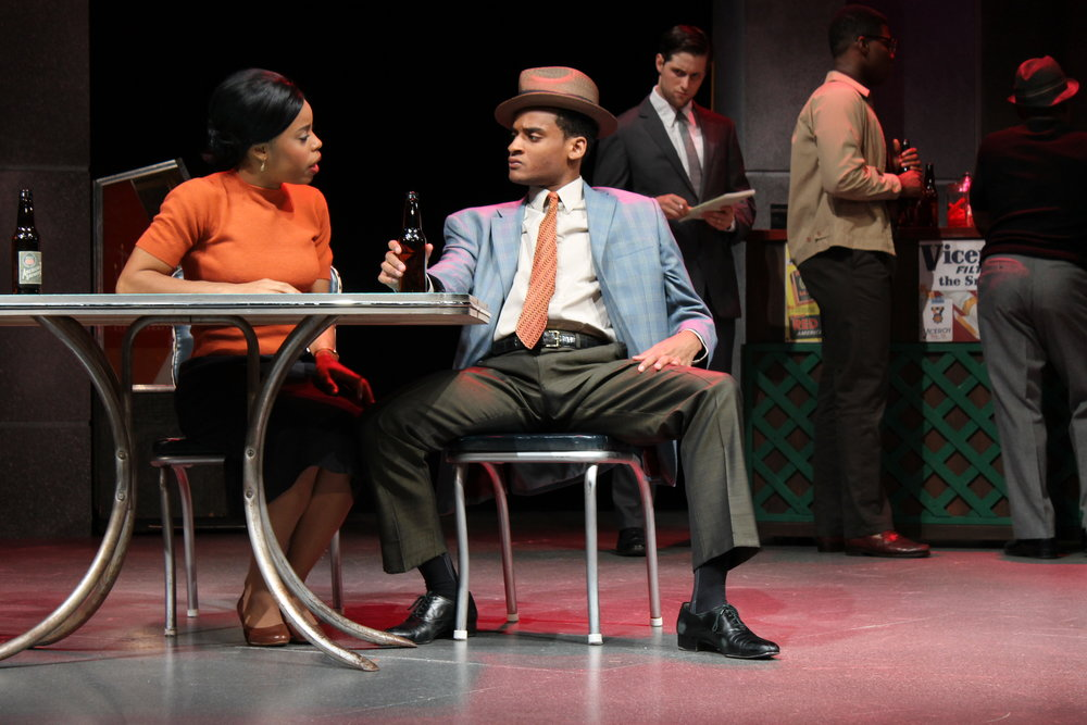 """Blues for Mister Charlie"" - James Baldwin Role: Richard Henry   Greer Garson Theatre, 2012 Directed by Patricia McGregor Costume Design by Katie Nowacki"