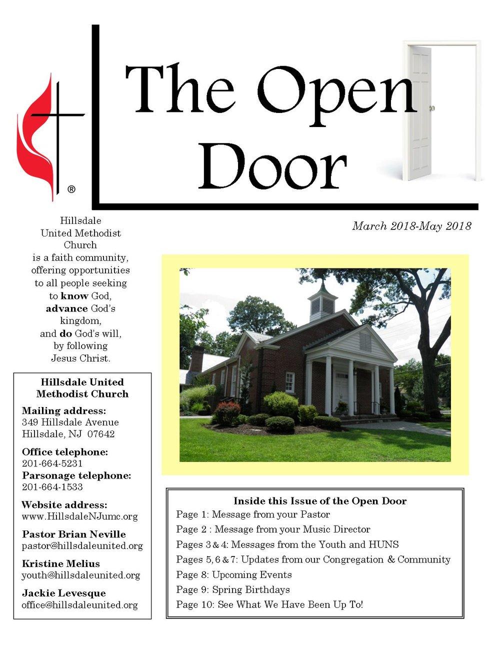 Spring Open Door 2018 Page One.jpg