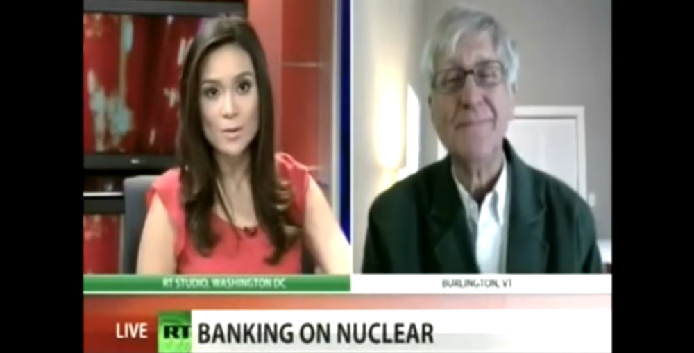 Fairewinds Energy Institute - Arnie Gundersen on RT News