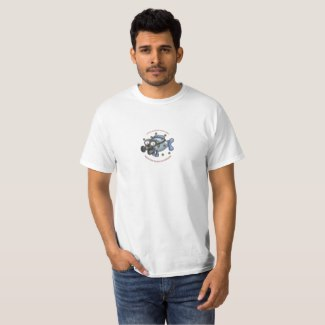 Men's Radiation Fish T-Shirt