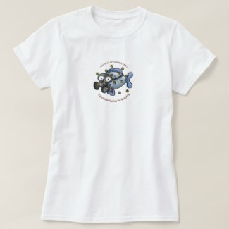 Ladies' Radiation Fish T-Shirt (Classic)