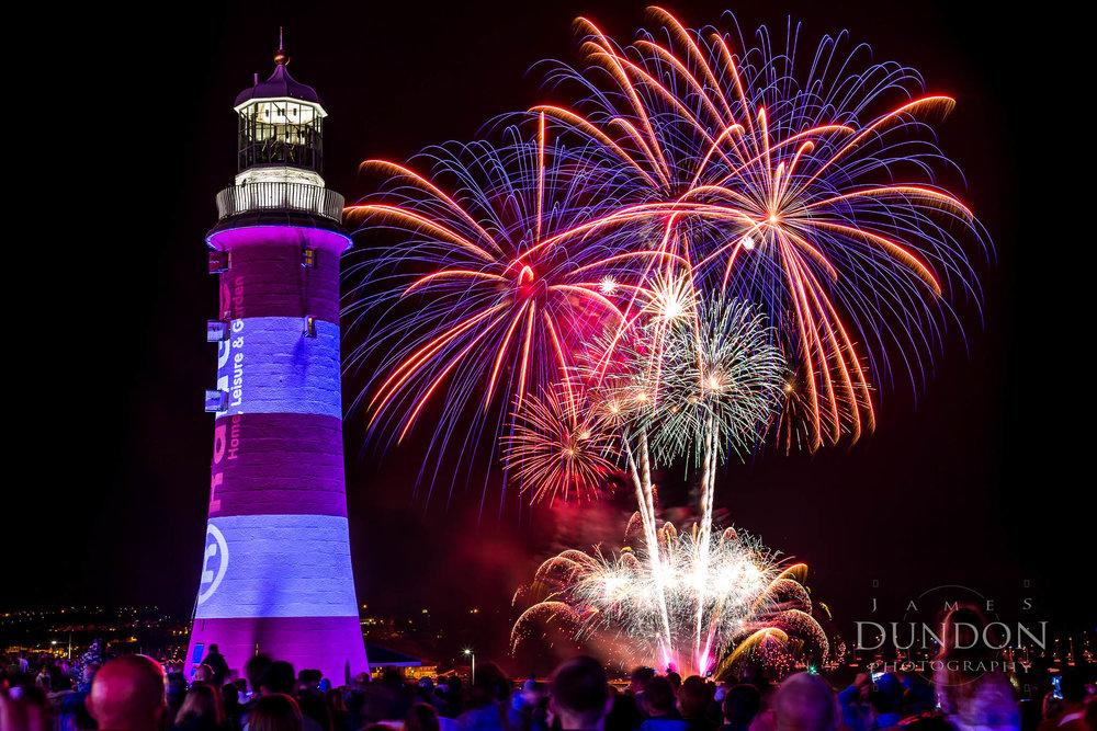 Plymouth Hoe, Plymouth - August 18, 2015 - 22:04