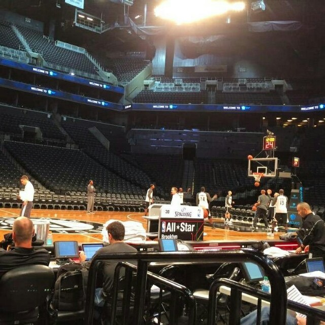 pic:  shoot around