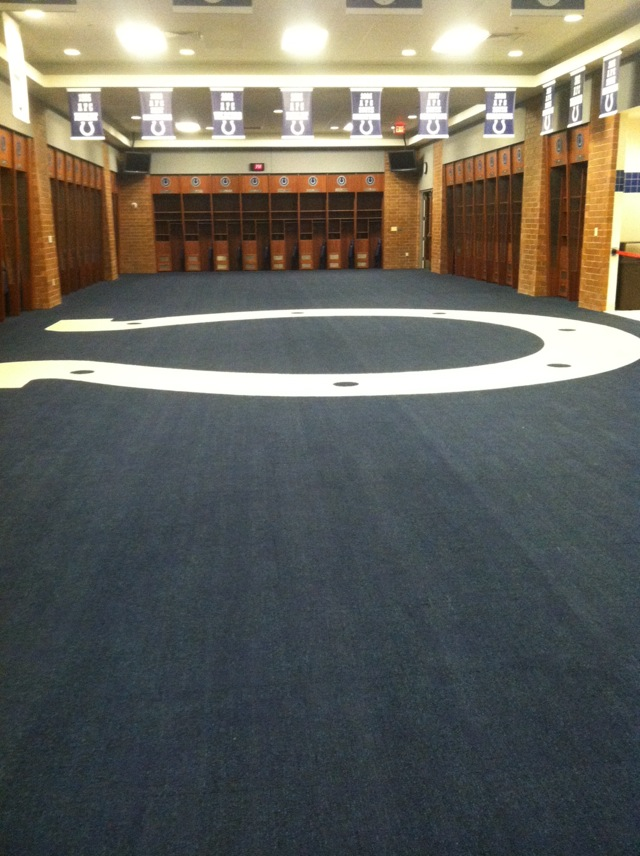 THE COLTS LOCKER ROOM  +