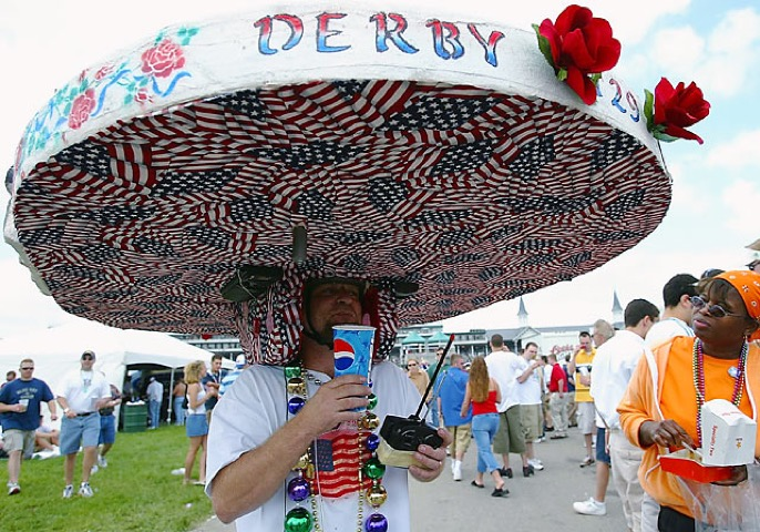 LARGE DERBY HAT
