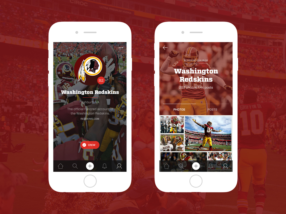 Washington Redskins Fancred Profile