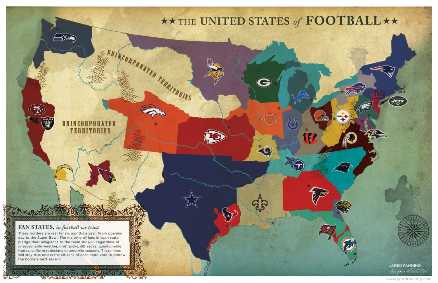 The United States of Football — Make Gameday Everyday