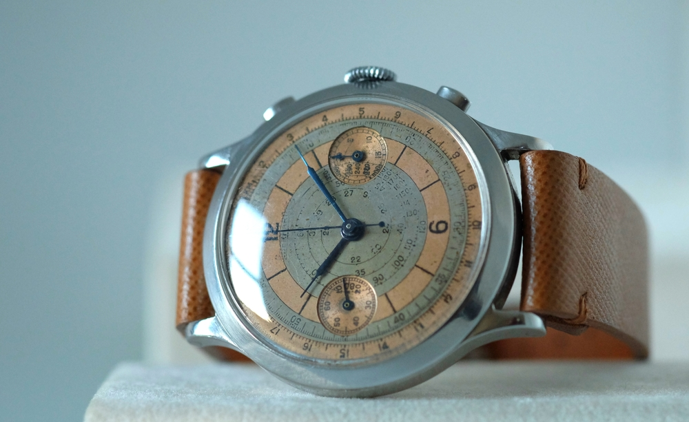 Eberhard Oversized Double-Pusher Chronograph $6,950