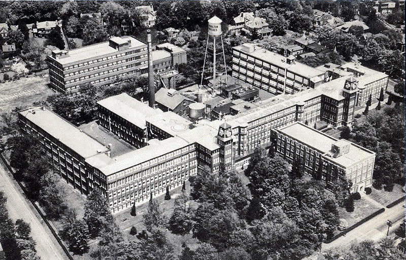 Hamilton Factory. Lancaster PA 1951