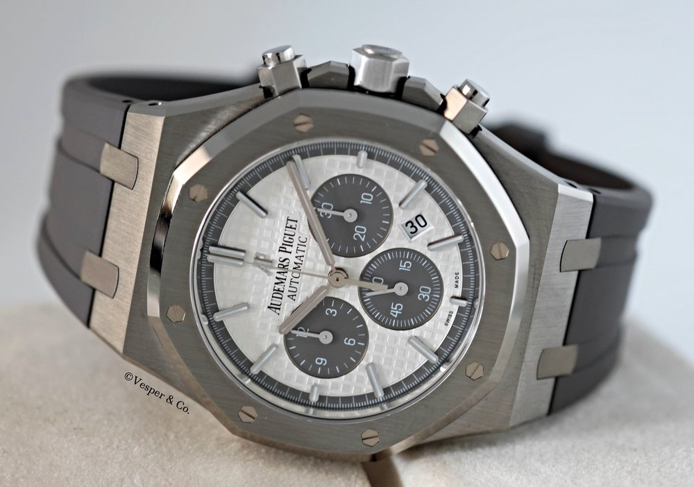 Royal Oak Chronograph QEII  Titanium 2015   SOLD
