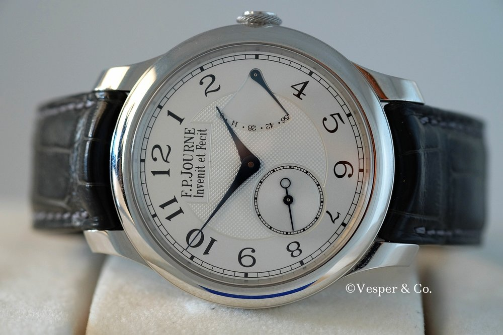 FP Journe Chronometre Souverain Platinum   SOLD