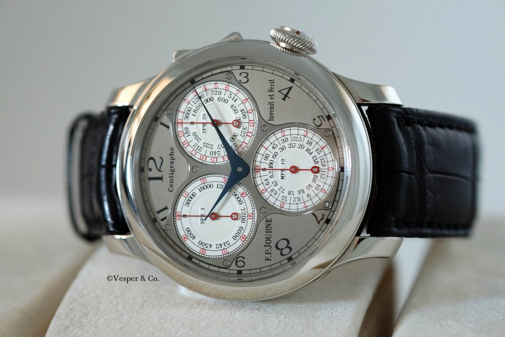FP Journe Centigraphe Souverain Platinum   SOLD