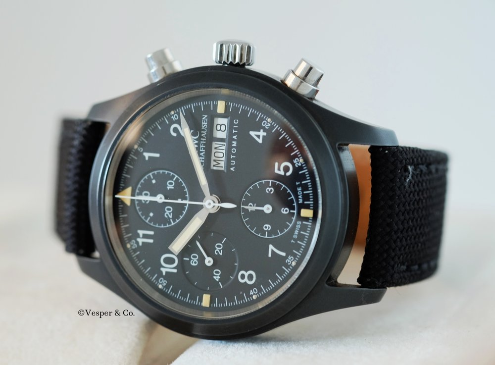 IWC Flieger Chronograph Ceramic Ref.  3705   SOLD
