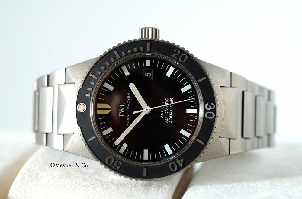 IWC Aquatimer GST Titanium Ref. 3536   SOLD