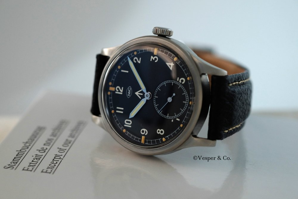 IWC Mark X  Circa 1945   SOLD