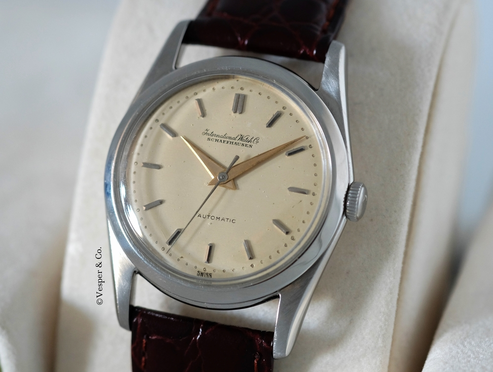 IWC  Automatic Wristwatch Circa 1952   SOLD