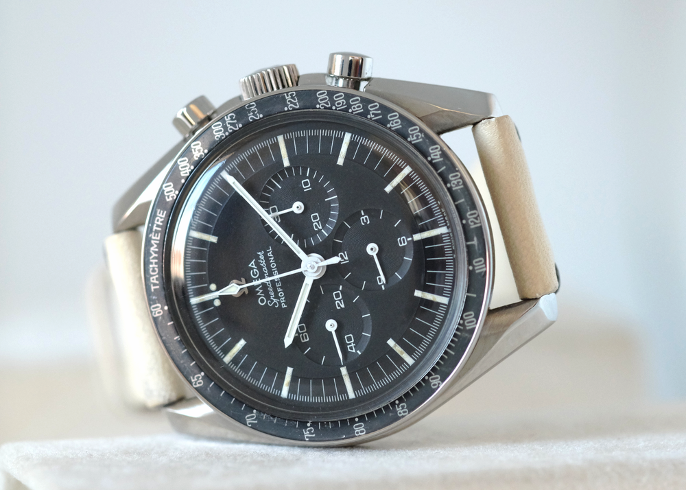 "Speedmaster ""Grey Ghost"" Ref. 105.012-65 CB   SOLD"