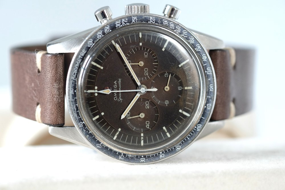 "Speedmaster ""Ed White"" Ref. 105.003 Tropical   SOLD"