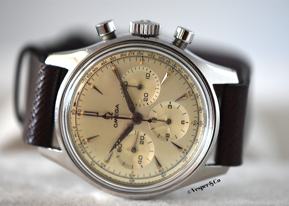 Chronograph Calibre 321 Ref. 2451-7   SOLD