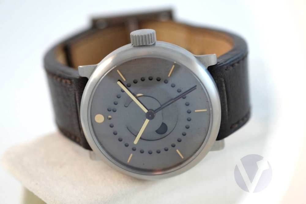 Selena Tinta Moonphase Titanium 39mm   SOLD