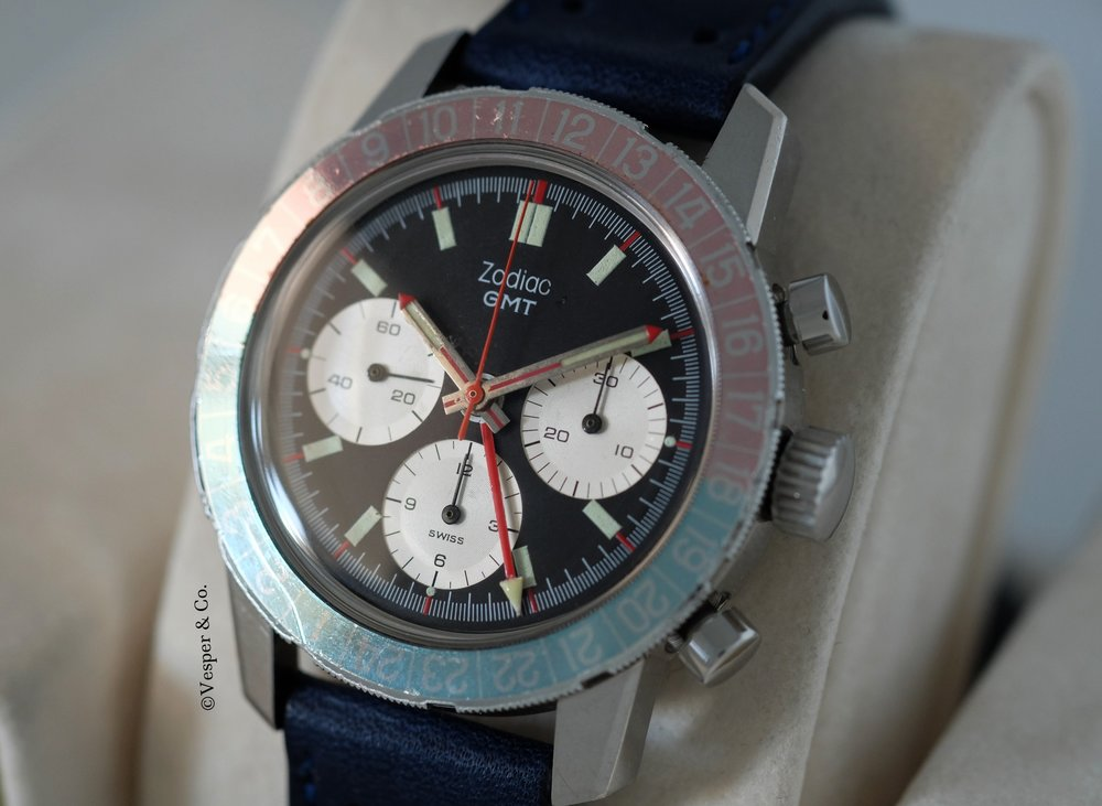 Zodiac GMT Chronograph   SOLD